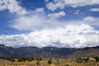 Vacant land near Sandia Mountains