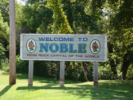 Welcome to Noble, OK