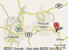 Prescott Country Club Location
