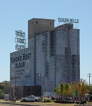 Famous Yukon Mills on Route 66