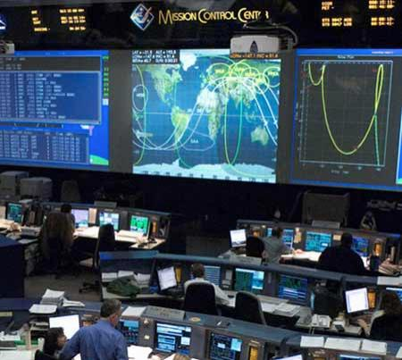 Mission Control - Johnson Space Center Houston, TX