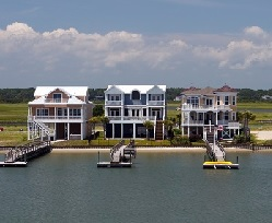 Houses on Lake Ann