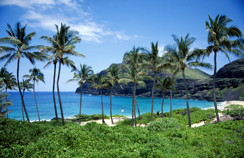 Beautiful beaches with splendid views in Kaneohe