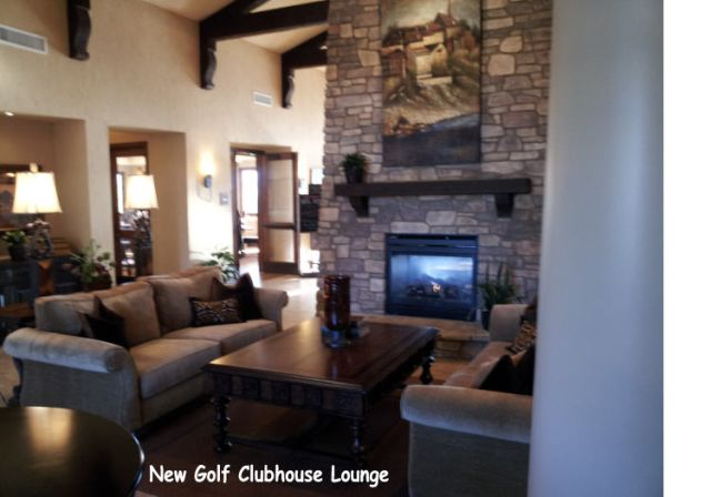 Golf Clubhouse Loung in Laguna Niguel