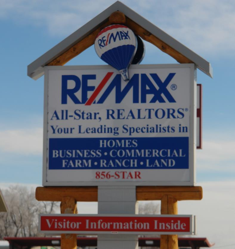 REMAX Riverton Realtors Sign