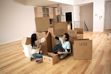 New Homeowners moving in Montgomery County