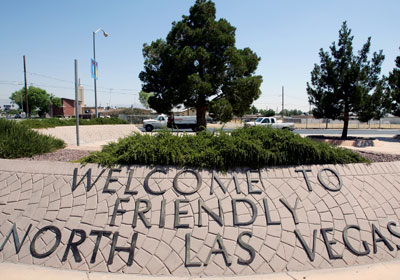 Welcome to north Las Vegas