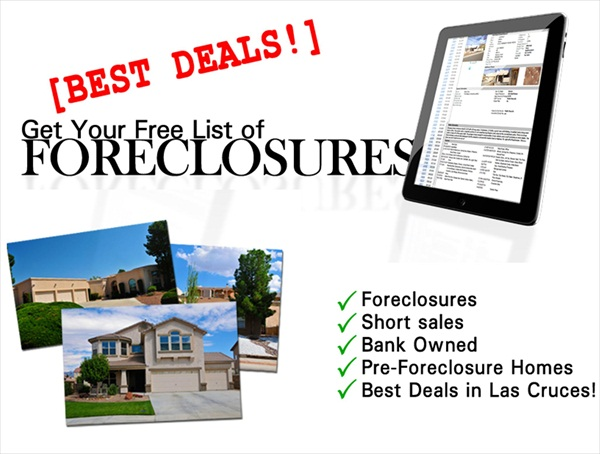 Buying Foreclosure Homes, Las Cruces homes best deals Foreclosure Homes Sales