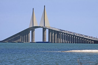 Sunshine Skyway Bridge Tampa FL