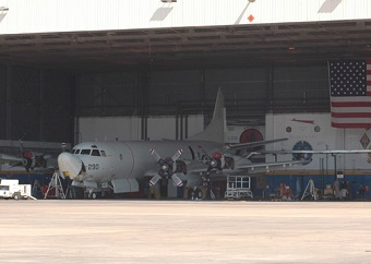 Hangar at JAX NAS