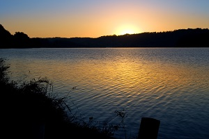 Sunset on Lacamas Lake
