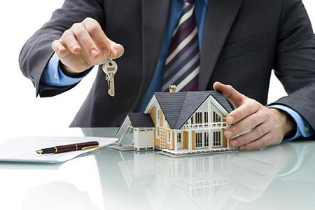 The keys to a new home purchased with the help of a real estate broker Massapequa, NY