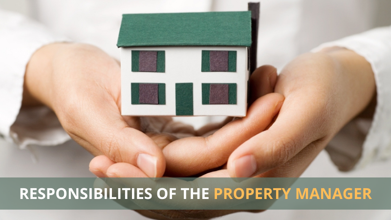 responsibilities of the property manager