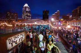 Street party in Downtown Austin