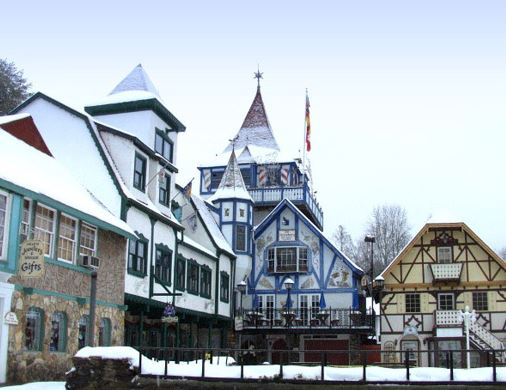 Bavarian architecture of Helen GA