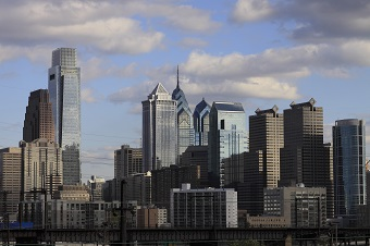 Center City PA skyline view