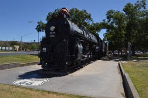 You may search for homes in Kingman, AZ near the Locomotive Park