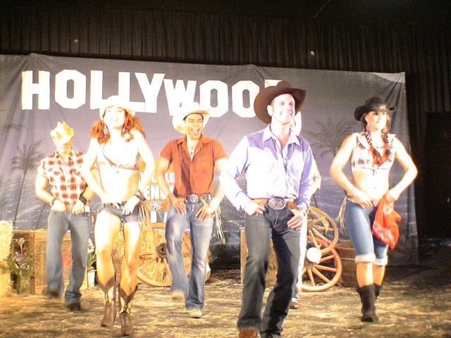 Steven Spreafico country Western dancing for his pilot!