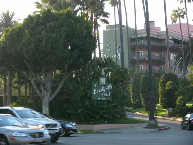 The Beverly Hills Hotel off Sunset Blvd. Steven Spreafico
