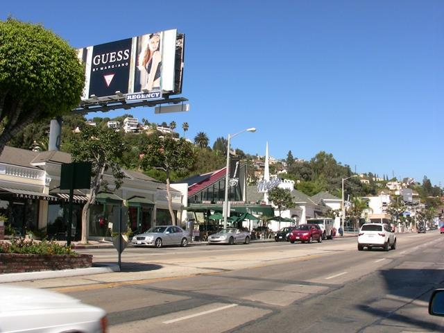 Exciting sunset Strip!