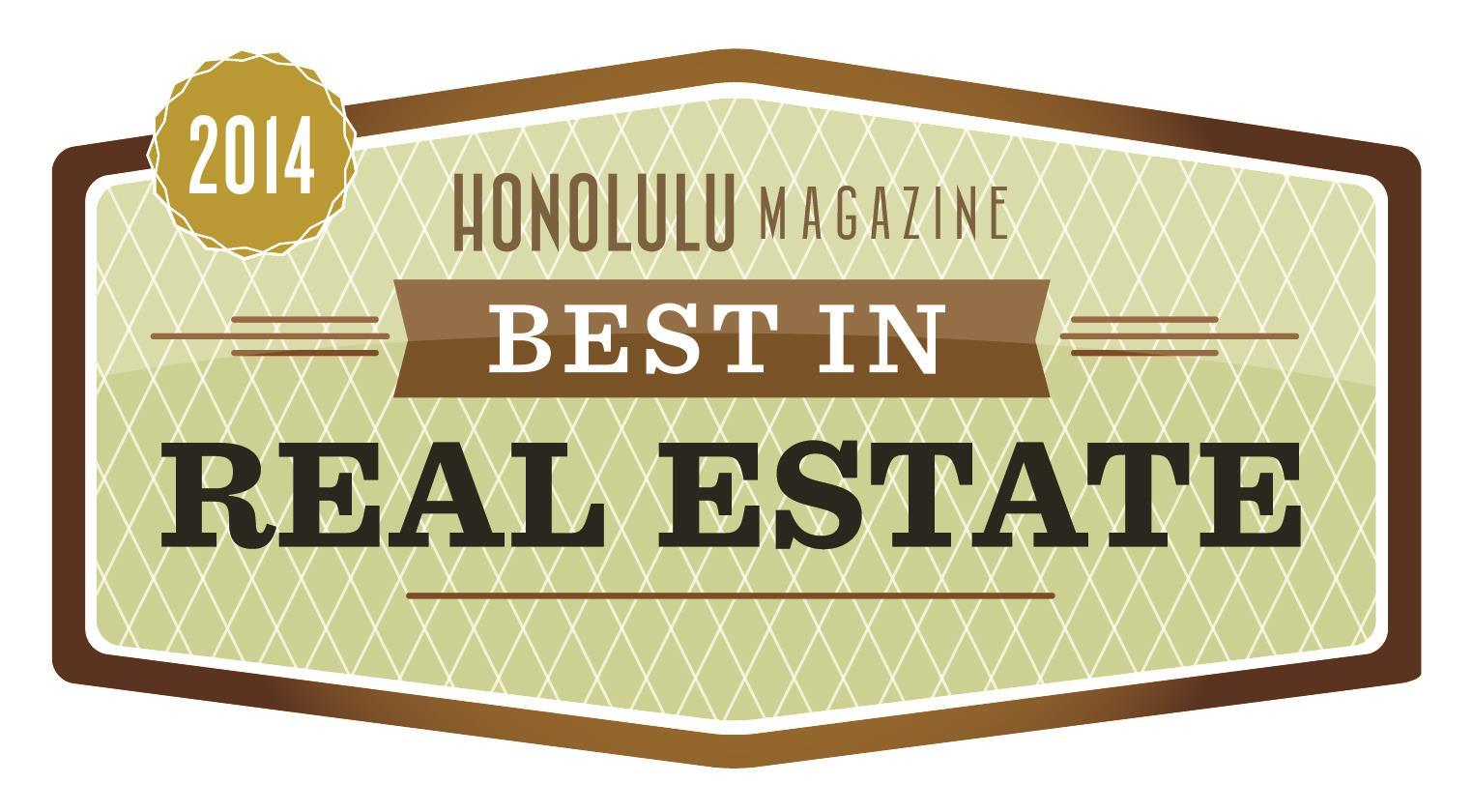 Honolulu Magazine Best In Real Estate 2014