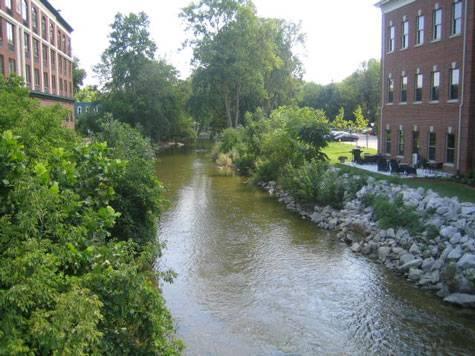 Ottawa River in Sylvania, Ohio