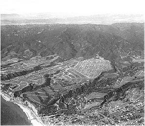 Pacific Palisades in 1927, five years after its founding