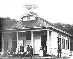 Canyon School as it appeared on October 29,1894