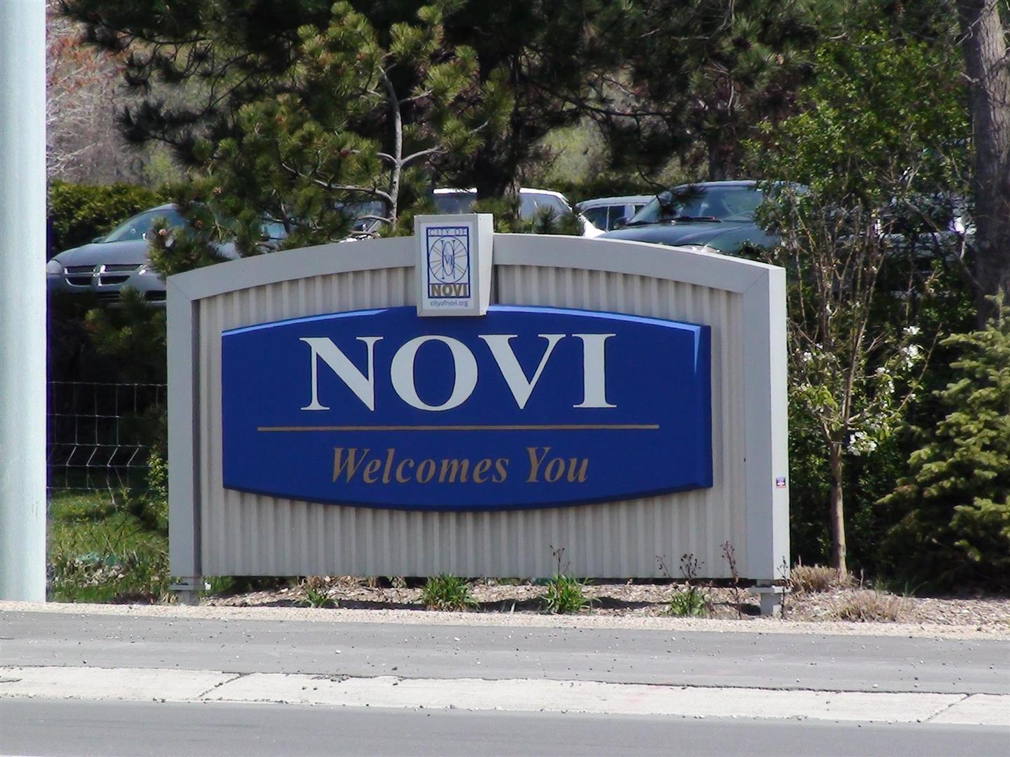 Novi Michigan City Sign Bob Jakowinicz