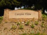 Canyon View sign