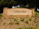 Colony East sign