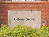 Colony Grove sign