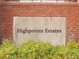 Highpointe Estates sign
