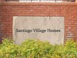 Santiago Village Homes sign