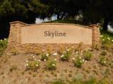 Skyline sign