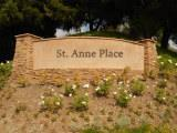 St. Anne Place sign