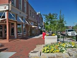 Lots of nice places to shop in Statesville