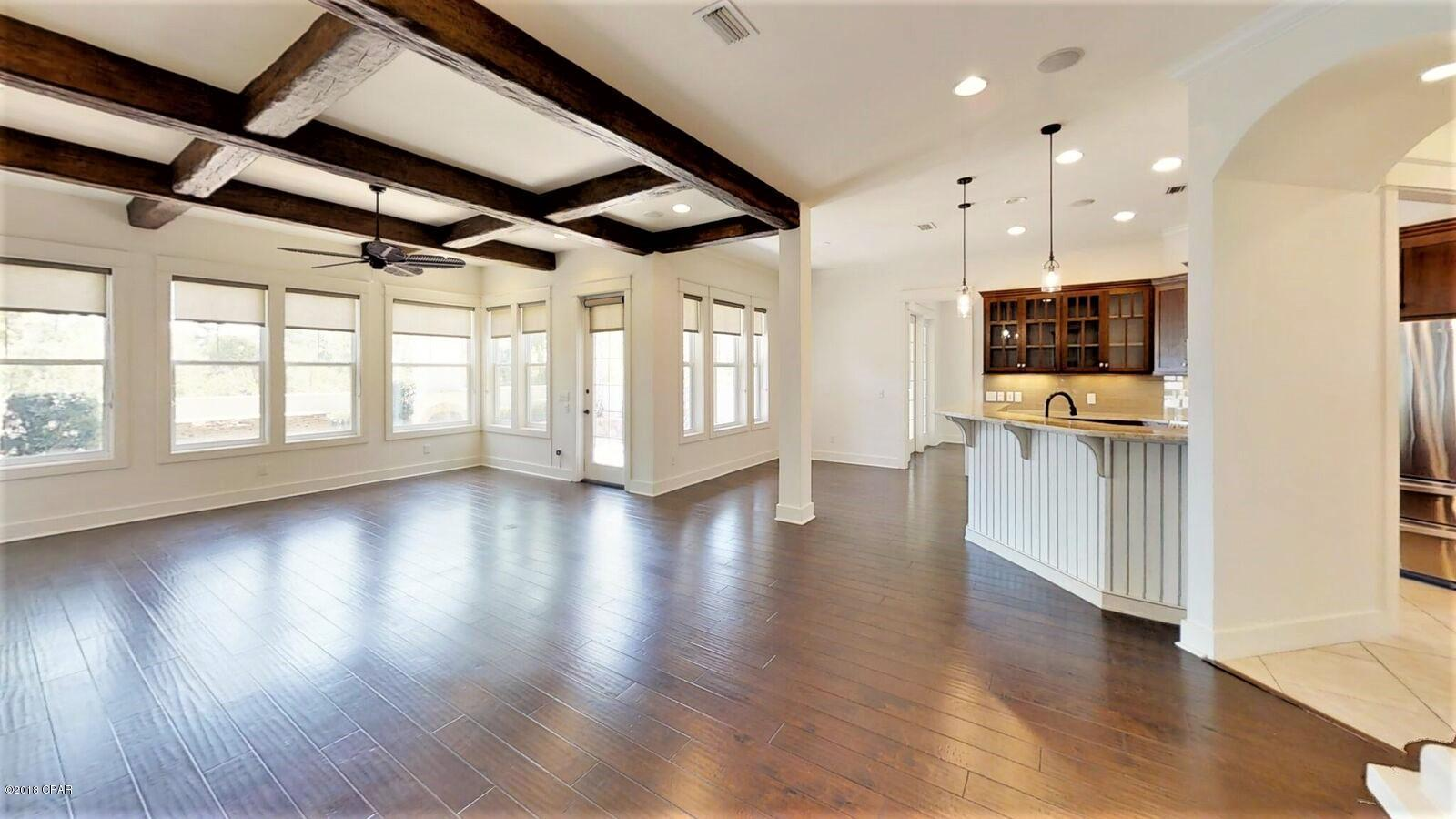 beam ceilings in homes for sale