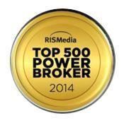 2014 RISMedia Top 500 Power Broker 2014
