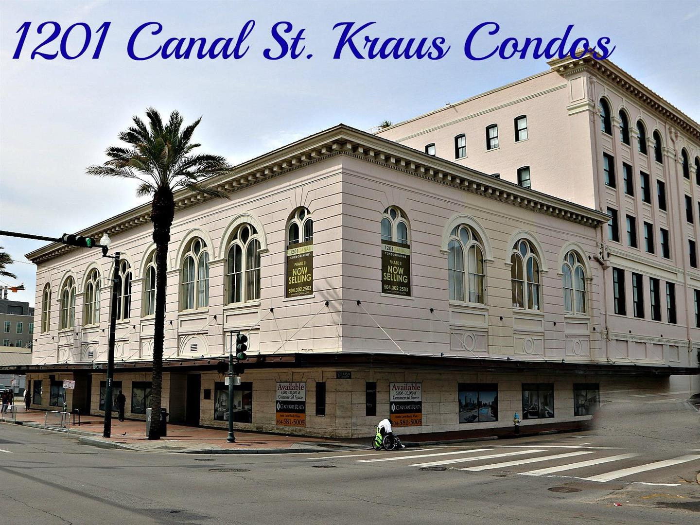 A Great Second Home At 1201 Canal Street In Nola