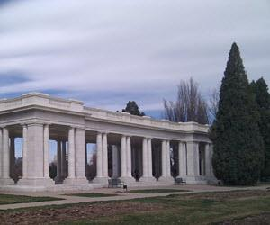 cheesman park monument denver neighborhood