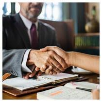 connect real estate agent realtor handshake