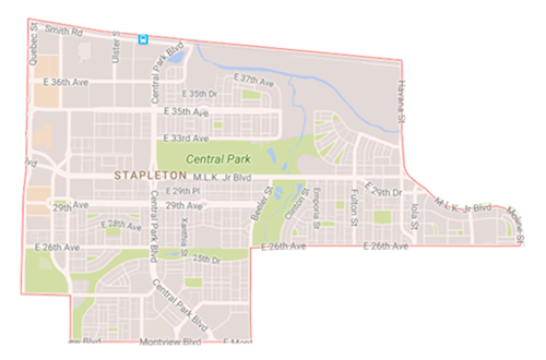 map stapleton