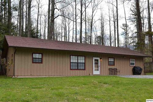 Cabins and single family homes are typical of properties for sale in Gatlinburg, TN